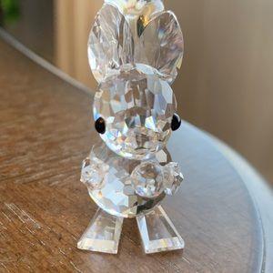 Swarovski Figurine- Squirrel holding Acorn